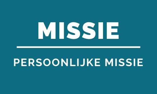 Persoonlijke missie